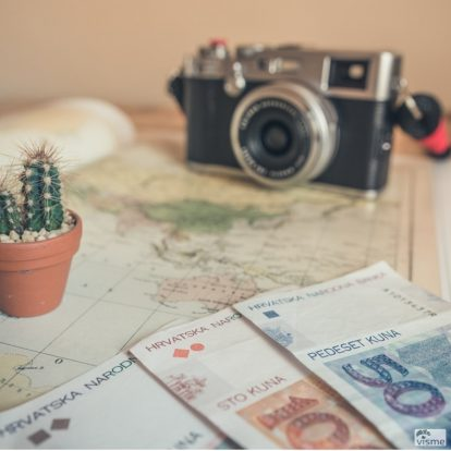 Set up money travel