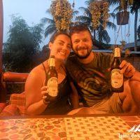 Celebrating with BeerLao!