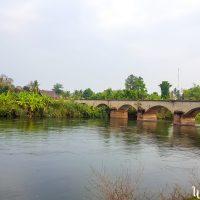 The bridge between Don Det and Don Khon