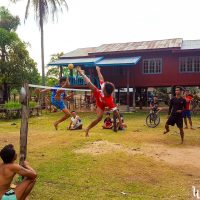 Sepak Takraw, those guys are not bad!