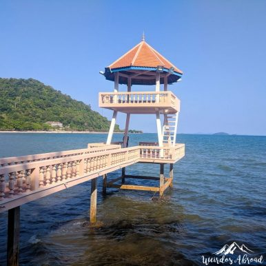 Entrance of Kep Beach