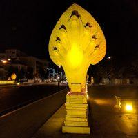 Naga at night