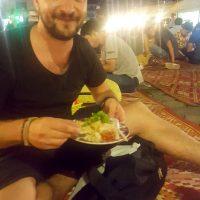 Night market food