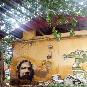 Hanoi - Street art