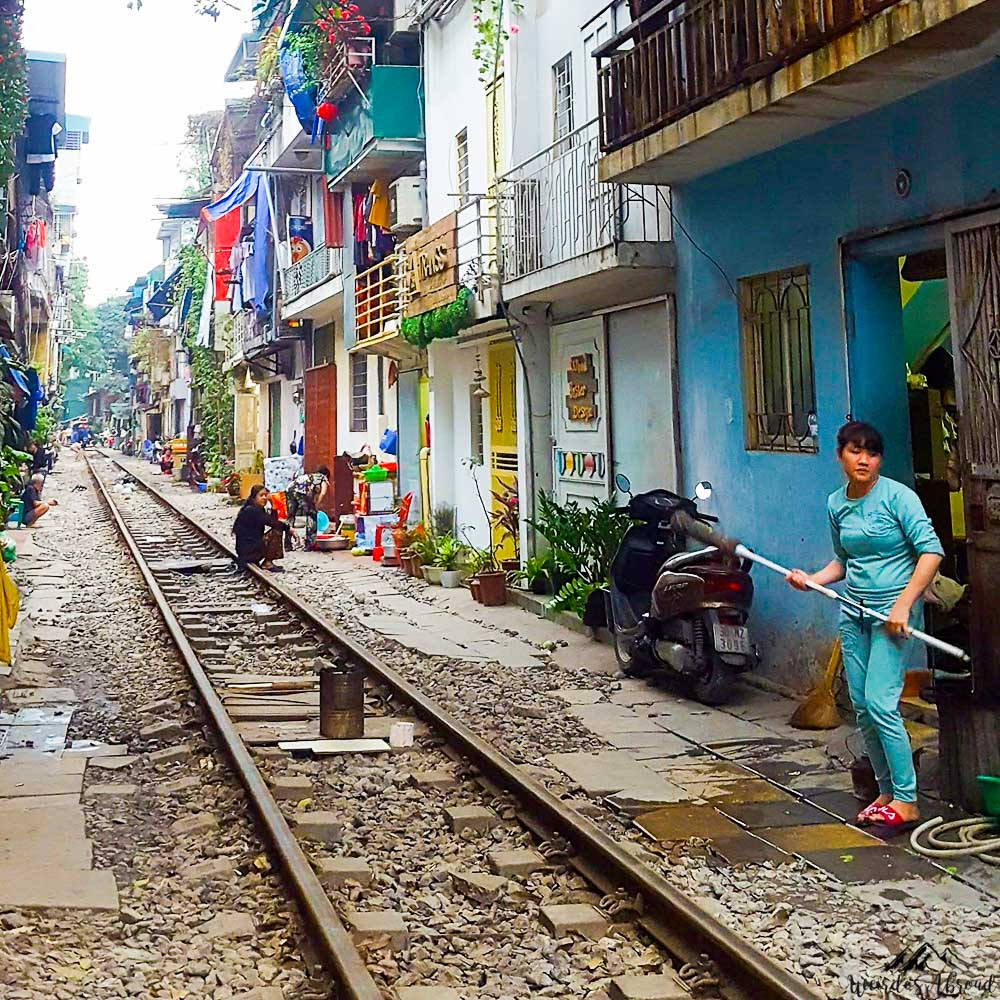 The Hanoi Train Street, A Must-see In Vietnam