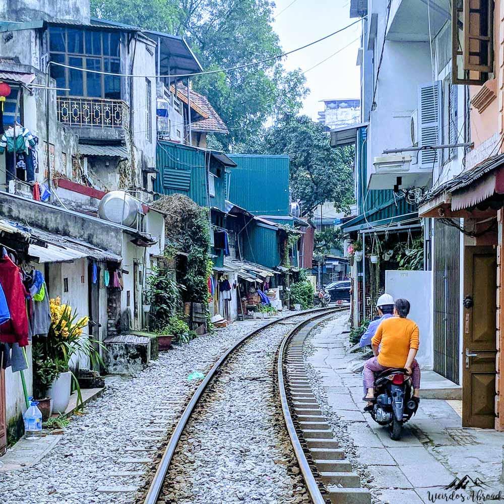 Train Street of Hanoi