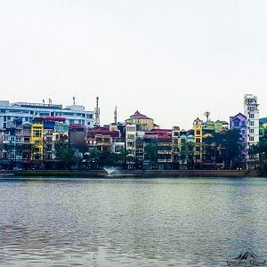 West Lake in Hanoi