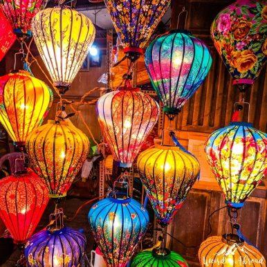 Vietnam - Hoi An - lanterns
