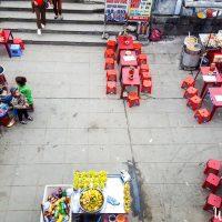 street market in Hue