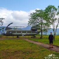 SIlviu on the former US air base of Khe Sanh