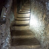 In the Vinh Moc Tunnel: Stairs
