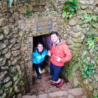 About to enter in the Vinh Moc Tunnels