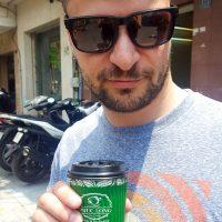 "Drinking some ""Phuc Long"" coffee..."