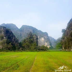 Landscape in Tam Coc