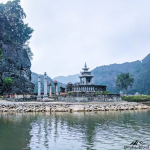 View from the Tam Coc river