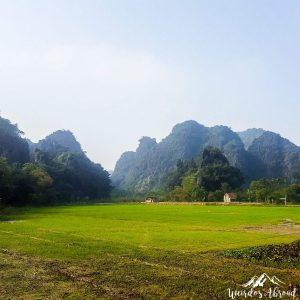 Landscape of Tam Coc, Vietnam