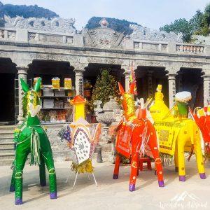 Pagoda celebration in Tam Coc