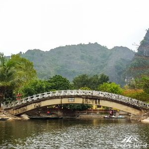 Bridge on the Tam Coc River