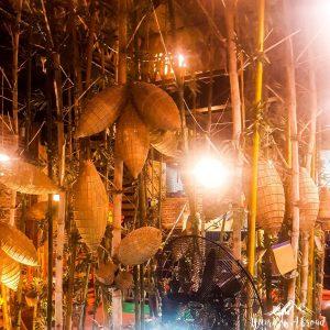 Beautiful decor in the Restaurant in Ninh Binh