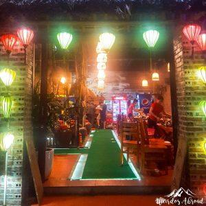 Entrance of the Restaurant in Ninh Binh