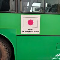 Thank you Japan for the nice buses!