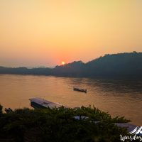 Our last Luang Prabang sunset view