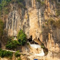Pakou Cave, just North from Luang Prabang