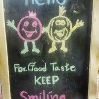 Keep smiling! :-)
