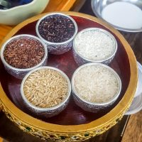 The 5 varieties of rice