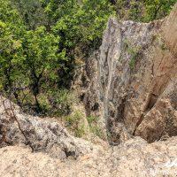 High cliffs