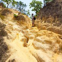 Climbing up!