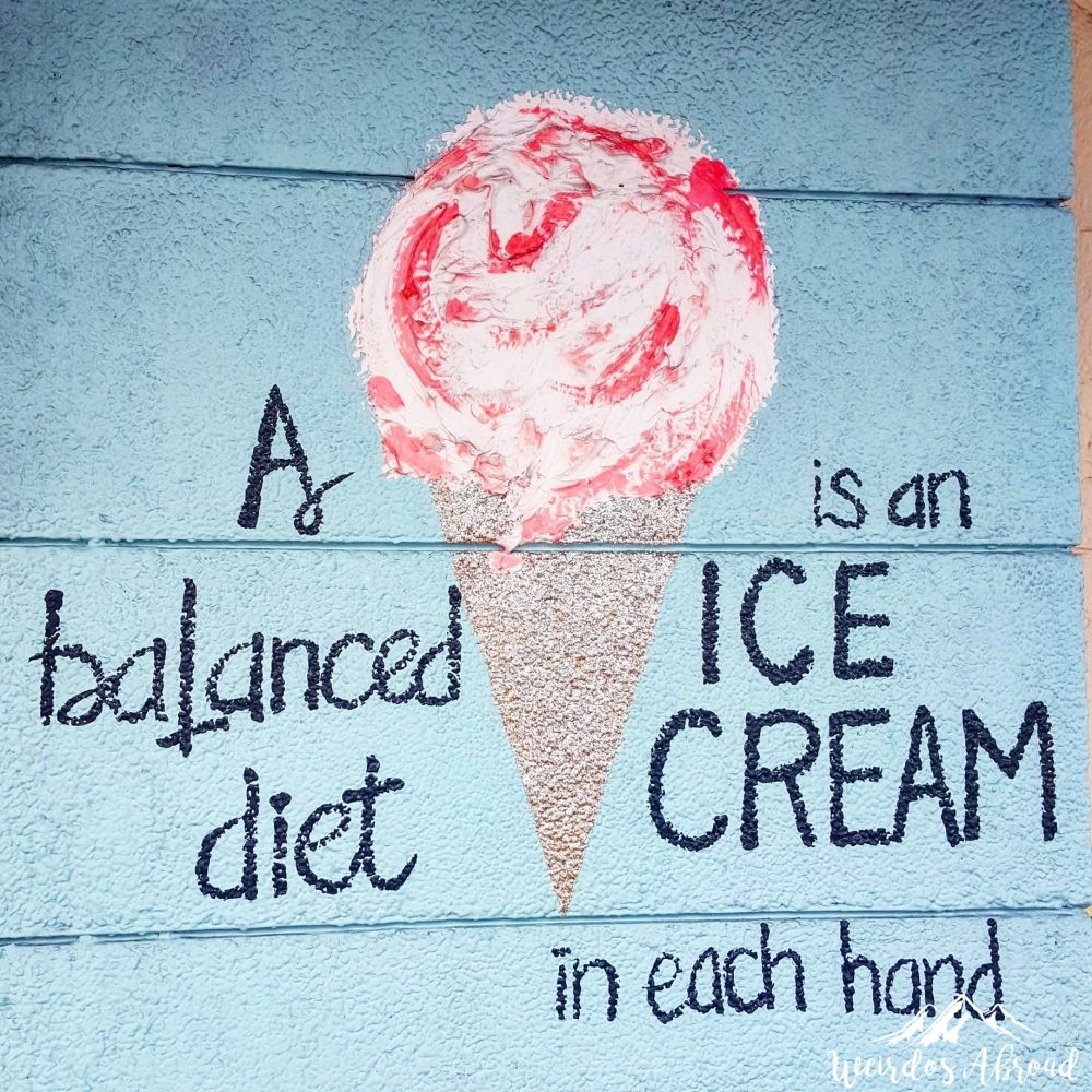 ice cream diet