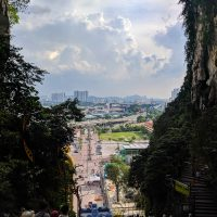 View on KL from Batu Cave