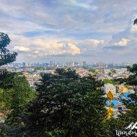 View over KL from the Dark Cave