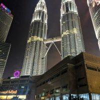 The Petronas Tower by night
