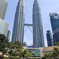 The Petronas Tower by day