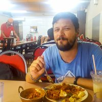 Indian lunch in Brickfields