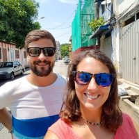 Wandering the streets of George Town at mid-day (of course)