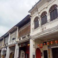 Pretty architecture in Penang