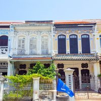 The maze of houses in George Town