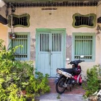 Beautiful house entrance in George Town