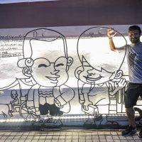 Malaysia - Penang - Street Art -107