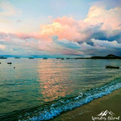 Koh Samui sunset in Thailand