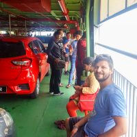 We took the Ferry to get to Penang Island
