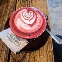 Red velvet cappuccino!