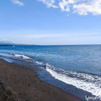 Amed beach on Bali island