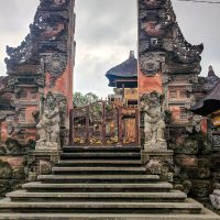 In the streets of Ubud
