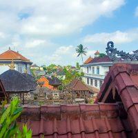 The roofs of Ubud