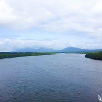 Crossing teh river