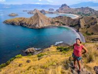 Perine sends you smiles from Padar Island.